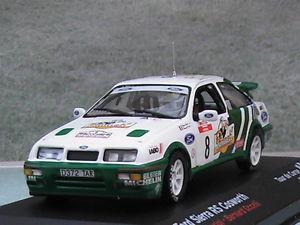 【送料無料】模型車 モデルカー スポーツカーフォードシエラコスワースツールドコルスボックスford sierra rs cosworth tour de corse 1988 143 rd in original box