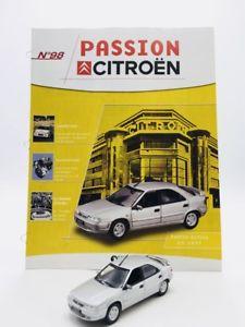 【送料無料】模型車 モデルカー スポーツカーアトラスブックレットxantia activa citron 1997 143 passion n98100 atlas booklet vgc