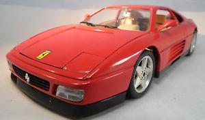 【送料無料】模型車 モデルカー スポーツカーフェラーリスケールモデルカーferrari 348tb 1989 118 scale model car by burago