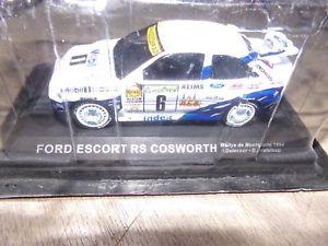 【送料無料】模型車 モデルカー スポーツカーフォードエスコートコスワースモンテカルロラリーミニチュアカーコレクションford escort rs cosworth montecarlo rally 94 miniature car collection 143