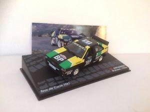 【送料無料】模型車 モデルカー スポーツカーラリーアウディクワトロツールドコルスネットワークcar rally audi quattro tour de corse 1981 m sheep 143 ixo