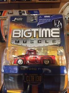 【送料無料】模型車 モデルカー スポーツカーフォードjada toys 56 ford f100 164