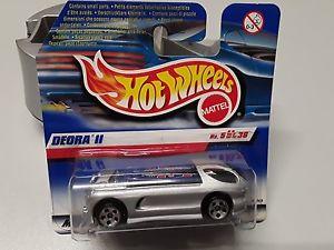 【送料無料】模型車 モデルカー スポーツカーホットホイールオリジナルボックスhot wheels deora 2 in silver from 1999 in original box