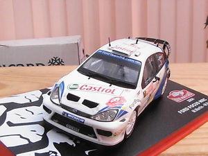 【送料無料】模型車 モデルカー スポーツカーフォードフォーカスラリーモンテカルロ#;ボックスford focus wrc 034;rallye montecarlo039; 2004 143 rd in original box