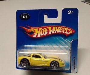 【送料無料】模型車 モデルカー スポーツカーホットオリジナルボックスホイールコルベットイエローhot wheels corvette c6 in yellow 1752005 in original box