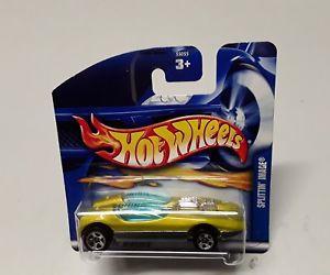【送料無料】模型車 モデルカー スポーツカーホットオリジナルボックスホイールhot wheels splittin image 55055 in original box