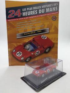 【送料無料】模型車 モデルカー スポーツカーフェラーリカールマンferrari 250 p 1963 143 n3670 most beautiful cars of the 24h of le mans state d