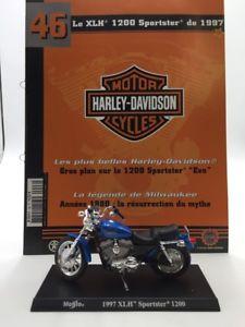 【送料無料】模型車 モデルカー スポーツカーオートバイハーレーダビッドソンブックレットminiature motorcycle harley davidson 1200 spotster 1997 118 n4650 booklet