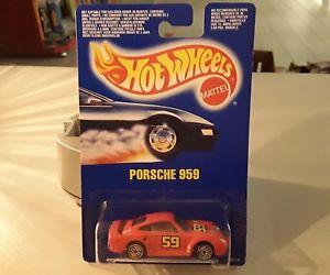 【送料無料】模型車 モデルカー スポーツカーホットホイールズオリジナルパッケージング1990マレーシア9519ポルシェ959