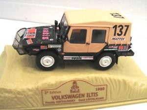 【送料無料】模型車 モデルカー スポーツカーパリダカールラリー143 4x4 volkswagen iltis kottulinsky parisdakar 1980