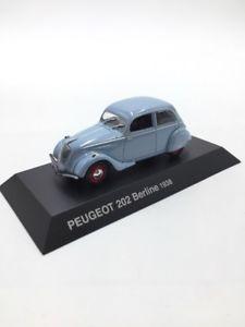 【送料無料】模型車 モデルカー スポーツカーセダンプジョーコレクションブックレット202 sedan 1938 n4360 peugeot 143 norev collection booklet condition