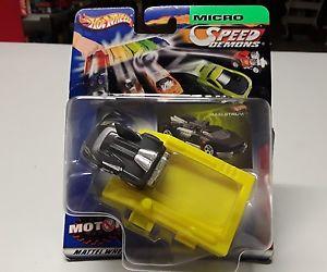 【送料無料】模型車 モデルカー スポーツカーホットホイールマイクロオリジナルボックスhot wheels micro speed demonds maelstrom 34 in original box
