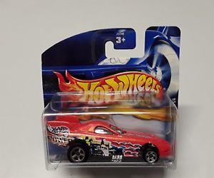 【送料無料】模型車 モデルカー スポーツカーホットオリジナルボックスオレンジホイールhot wheels firebird funny car in orange 26040 in original box