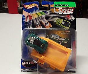 【送料無料】模型車 モデルカー スポーツカーホットホイールマイクロスピードhot wheels micro speed demonds ballistics 24in ovp