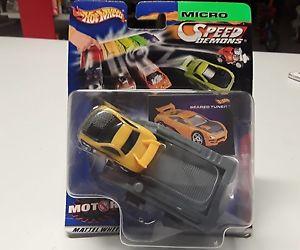 【送料無料】模型車 モデルカー スポーツカーホットホイールマイクロスピードターナーhot wheels micro speed demonds seared turner 14 bnib