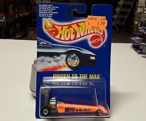 【送料無料】模型車 モデルカー スポーツカーオリジナルホットホイールhot wheels driven to the max of 1992 in original box