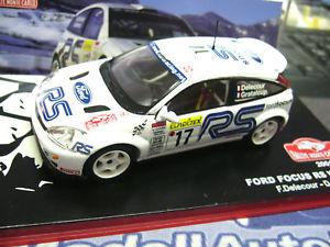 【送料無料】模型車 モデルカー スポーツカーフォードフォーカスwrcモンテdelecour2001ixo altaya143ford focus wrc rally monte delecour 2001 ixo altaya special 143