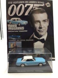 【送料無料】模型車 モデルカー スポーツカーフォードムスタングジェームズボンドford mustang operation thunder n3084 cars james bond 143 fascicul