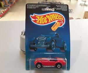 【送料無料】模型車 モデルカー スポーツカーホットオリジナルボックスホイールクラシックコブラhot wheels classic cobra in red 2535 of 1987 in original box