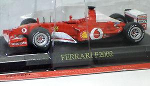 【送料無料】模型車 モデルカー スポーツカーフェラーリメタルferrari f1 collectionferrari f2002metal 143