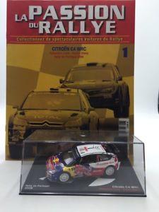 【送料無料】模型車 モデルカー スポーツカーシトロエンローブエレナラリーポルトガルボックスcitroen c4 wrc 143 loebelena rally portugal 2009 n1 box plexi fascicle