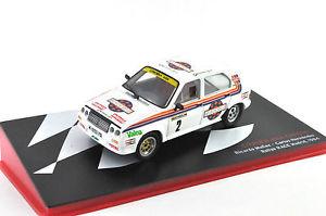 【送料無料】模型車 モデルカー スポーツカーシトロエンビザクロノラリーレースマドリードcitroen visa chrono 2 rallye race madrid 1984 143me
