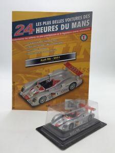 【送料無料】模型車 モデルカー スポーツカーアウディカールマンミントaudi r82001 143 n170 the most beautiful cars of 24h du mans mint