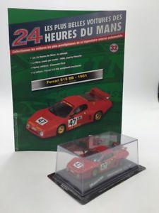 【送料無料】模型車 モデルカー スポーツカーフェラーリルマンferrari 512 bb 1981 143 n3270 most beautiful cars of the 24h of le mans