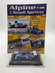 【送料無料】模型車 モデルカー スポーツカーアルパインミントブックレットalpine a 441 1974 143 eligor n3880 mint booklet