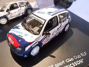 【送料無料】模型車 モデルカー スポーツカールノークリオカップ###renault clio cup elf 21 034;ericsson034;