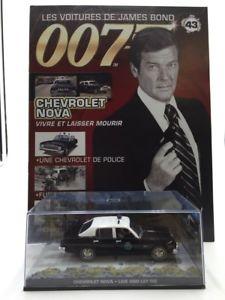 【送料無料】模型車 モデルカー スポーツカーシボレーノヴァライブジェームスライブボンドchevrolet nova live and let live n4384 cars james bond 143