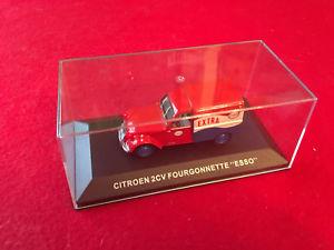 【送料無料】模型車 モデルカー スポーツカーcitron 2 cv fourgonette esso 143