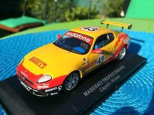 【送料無料】模型車 モデルカー スポーツカーマセラティ#ネットワークmaserati trofero 2003 43 capelli kroher 143 ixo atlaya collectible car