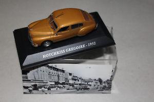 【送料無料】模型車 モデルカー スポーツカーホッチキスグレゴアール1952hotchkiss gregoire 1952