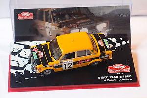 【送料無料】模型車 モデルカー スポーツカーシート#altaya seat 124d s 1800 12 a zanini j petisco montecarlo 1977 143