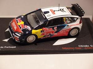 【送料無料】模型車 モデルカー スポーツカーネットワークシトロエンポルトガルラリーixo altaya citroen c4 wrc portugal rally 2010 143