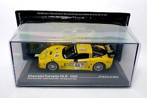 【送料無料】模型車 モデルカー スポーツカーシボレーコルベットルマンネットワークchevrolet corvette c6r le mans 2005ixo 143