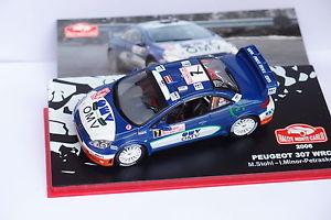 【送料無料】模型車 モデルカー スポーツカーixo altaya peugeot 307 wrc7モンテcarlo2006143ixo altaya peugeot 307 wrc 7 monte carlo 2006 143