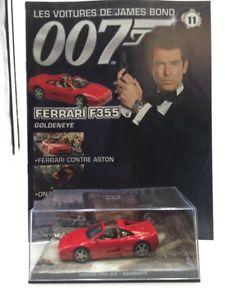 【送料無料】模型車 モデルカー スポーツカーフェラーリジェームスボンドブックレットferrari f355 goldeneye n1184 cars james bond 143 booklet