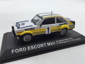 【送料無料】模型車 モデルカー スポーツカーフォードエスコートラリーカーford escort mk ll waldegaardthorszelius 1979 n4370 143 rally cars