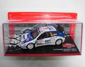 【送料無料】模型車 モデルカー スポーツカーミニチュアモンテカルロラリーシトロエンマイナーminiature 143 rallye monte carlo mib citroen xzara 2007 wrc stohl minor