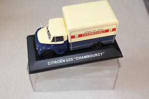 【送料無料】模型車 モデルカー スポーツカーシトロエンcitroen u23 chambourcy