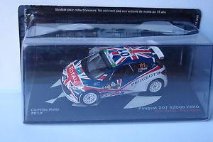 【送料無料】模型車 モデルカー スポーツカーネットワークプジョー#クリチバラリーixo altaya peugeot 207 s2000 zero 01 curitiba rally 2010 143