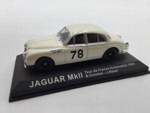 【送料無料】模型車 モデルカー スポーツカージャガーツールドフランスラリーカーjaguar mk ll constenrenel tour de france 1960 n4970 143 rally cars