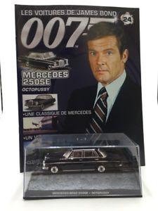 【送料無料】模型車 モデルカー スポーツカーメルセデスボンドブックレットジェームズmercedes 250ose octopussy n2484 cars james bond 143 booklet