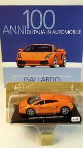 【送料無料】模型車 モデルカー スポーツカーランボルギーニガヤルド143 lamborghini gallardo deagostini