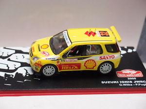 【送料無料】模型車 モデルカー スポーツカーネットワークモンテカルロカルロixo altaya suzuki ignis jwrc monte carlo 2005 143