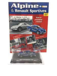 【送料無料】模型車 モデルカー スポーツカーアルパインミントブックレットalpine a 110 gendarmerie 1971 143 eligor n1780 mint booklet