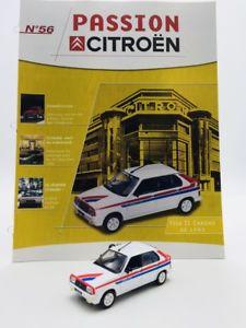 【送料無料】模型車 モデルカー スポーツカービザクロノアトラスシトロエンブックレットll visa chrono 1982 passion 143 atlas n56100 citron booklet vgc