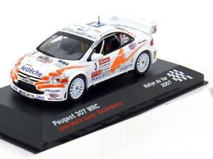 【送料無料】模型車 モデルカー スポーツカープジョー#ラリーマーシー143 altaya peugeot 307 wrc 3, rally du var cuoqmarty 2007
